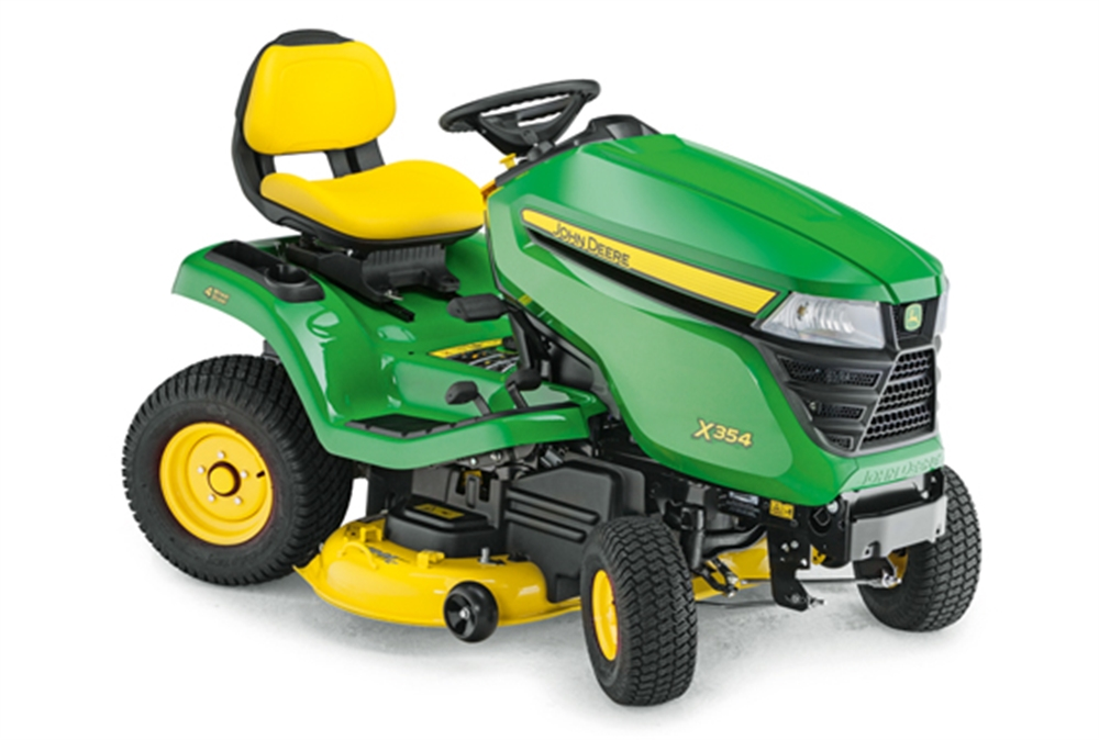 ... Tractors - Mulching - John Deere X354 Lawn Tractor - Four Wheel Steer