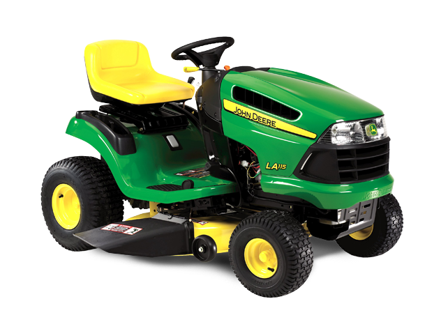 john deere 100 series lawn tractors