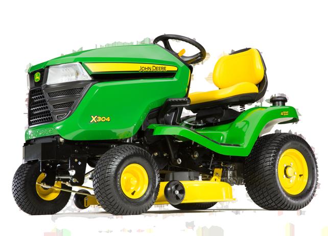 john deere x series lawn tractors