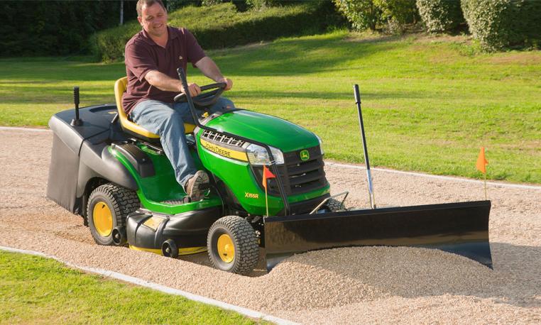 John Deere Gardening & Ground Engagement Riding Mower Attachments