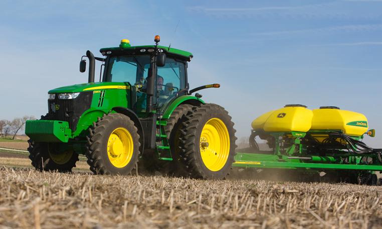 john deere row-crop tractors