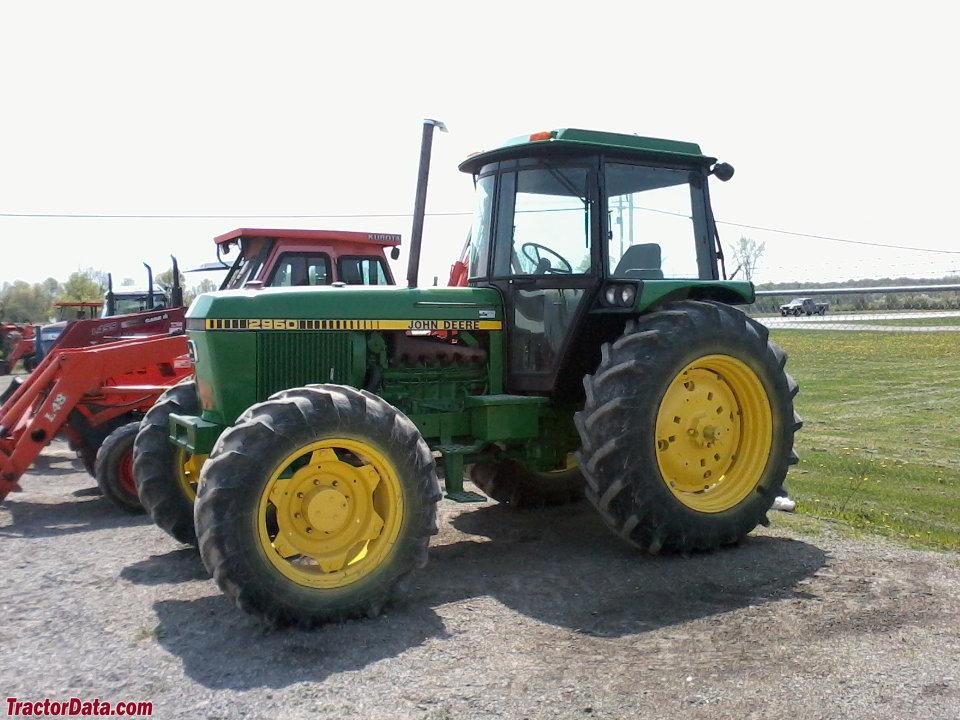 TractorData.com John Deere 2950 tractor photos information