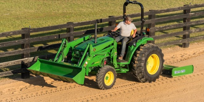 John Deere Launches New 4M & 4R Series Compact Tractors ...