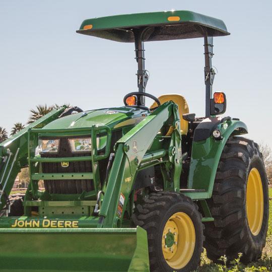 D4 Fiberglass Canopy for John Deere Compact & Utility Tractors