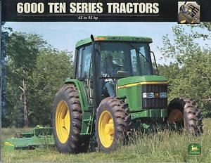 john deere 6000 ten series tractors