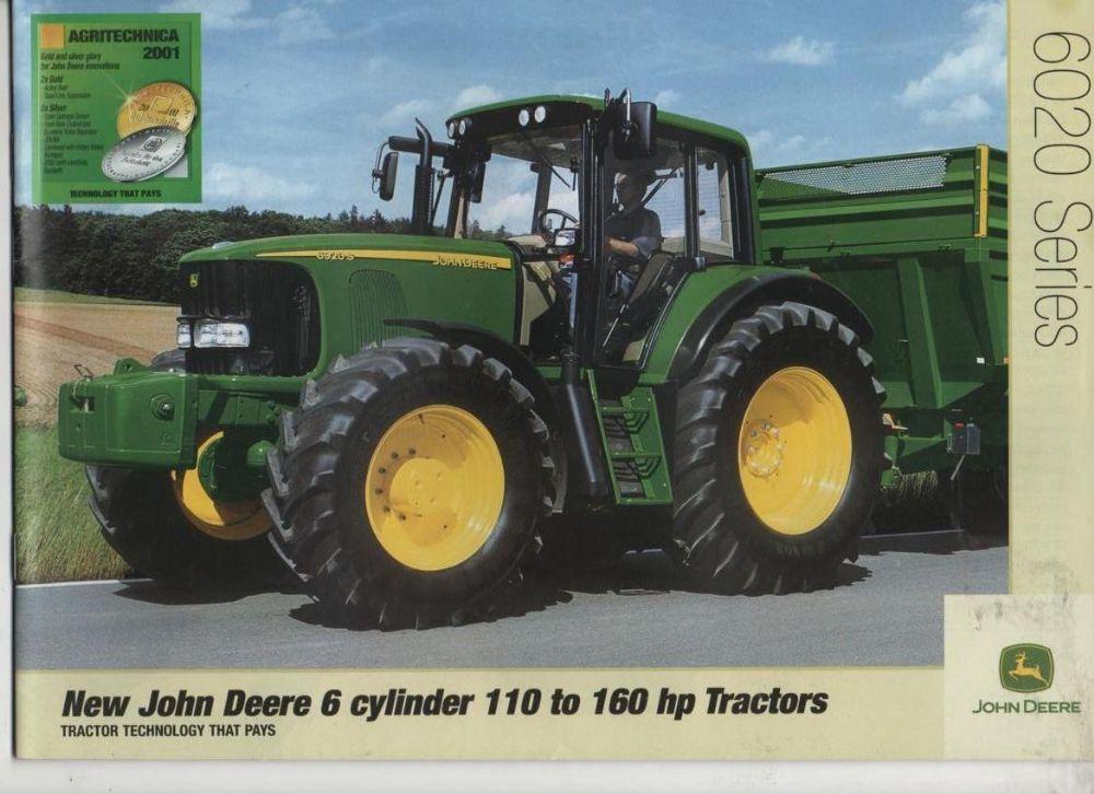 john deere 6020 series tractors