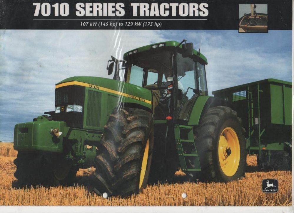 john deere 7010 series tractors