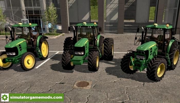 FS17 – John Deere 7030 Series Tractor – Simulator Games ...