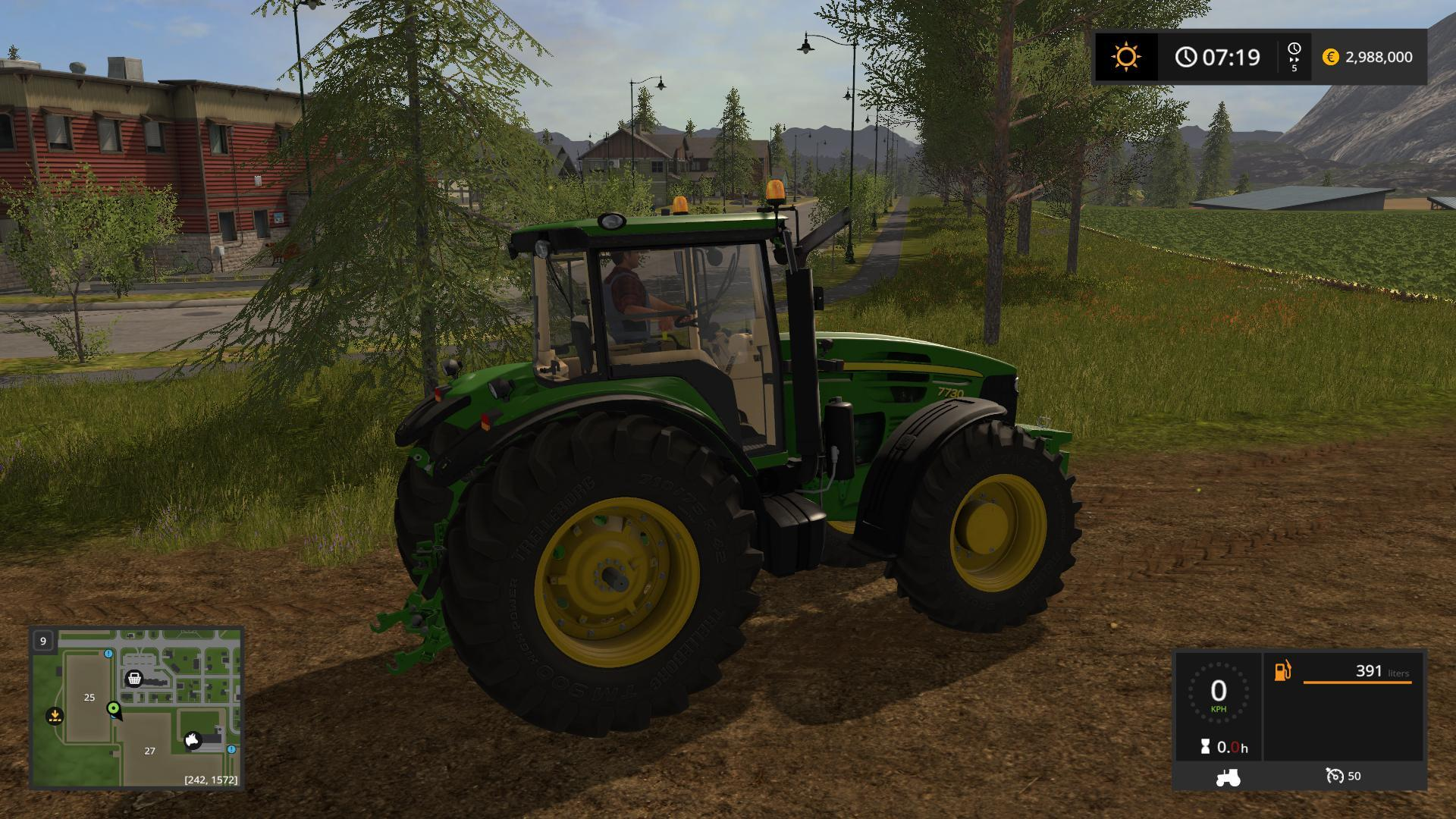 JOHN DEERE 7030 SERIES V2.2.2.0 Tractor - Farming ...