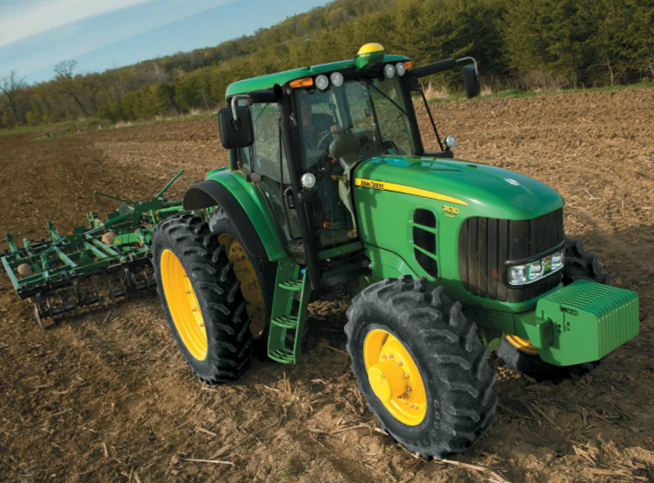 john deere 7030 small-frame series tractors