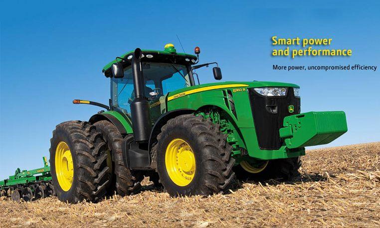 John Deere 8000 Series Large Tractors