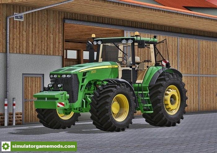 john deere 8030 series tractors