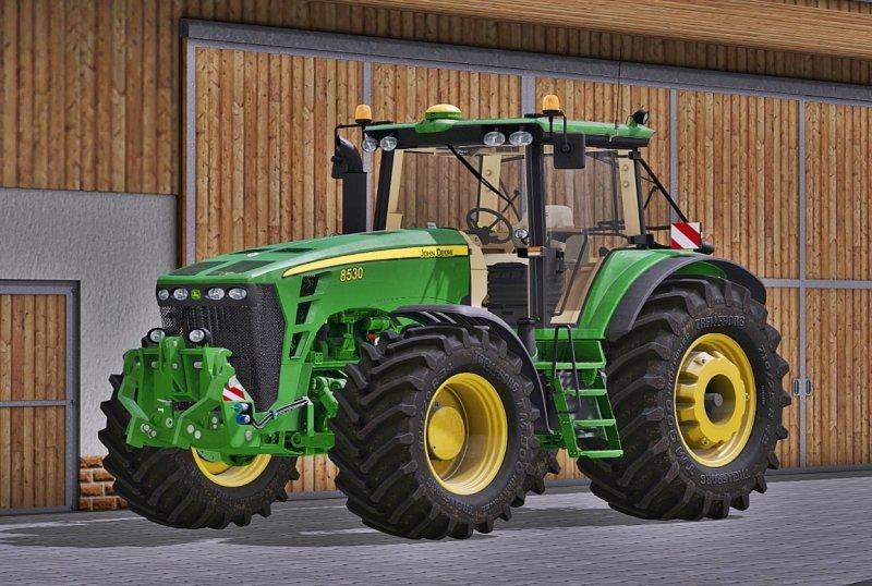 JOHN DEERE 8030 SERIES V2.2 FS17 - Farming Simulator 17 ...