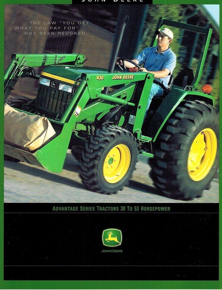 john deere advantage series tractors