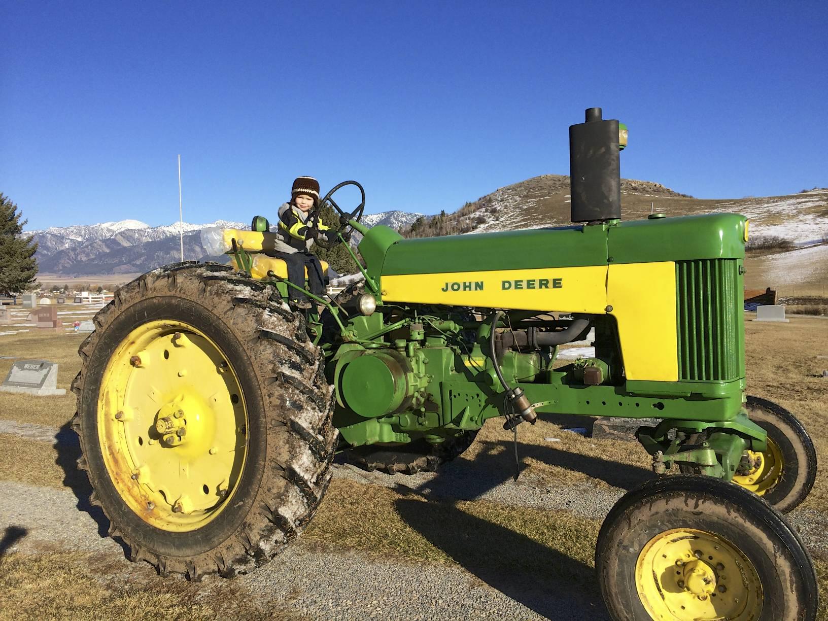 john deere two-cylinder 30 series tractors