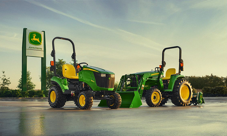 john deere e series tractors