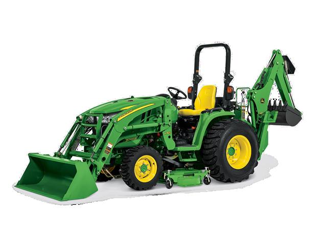 john deere 3 family compact utility tractors