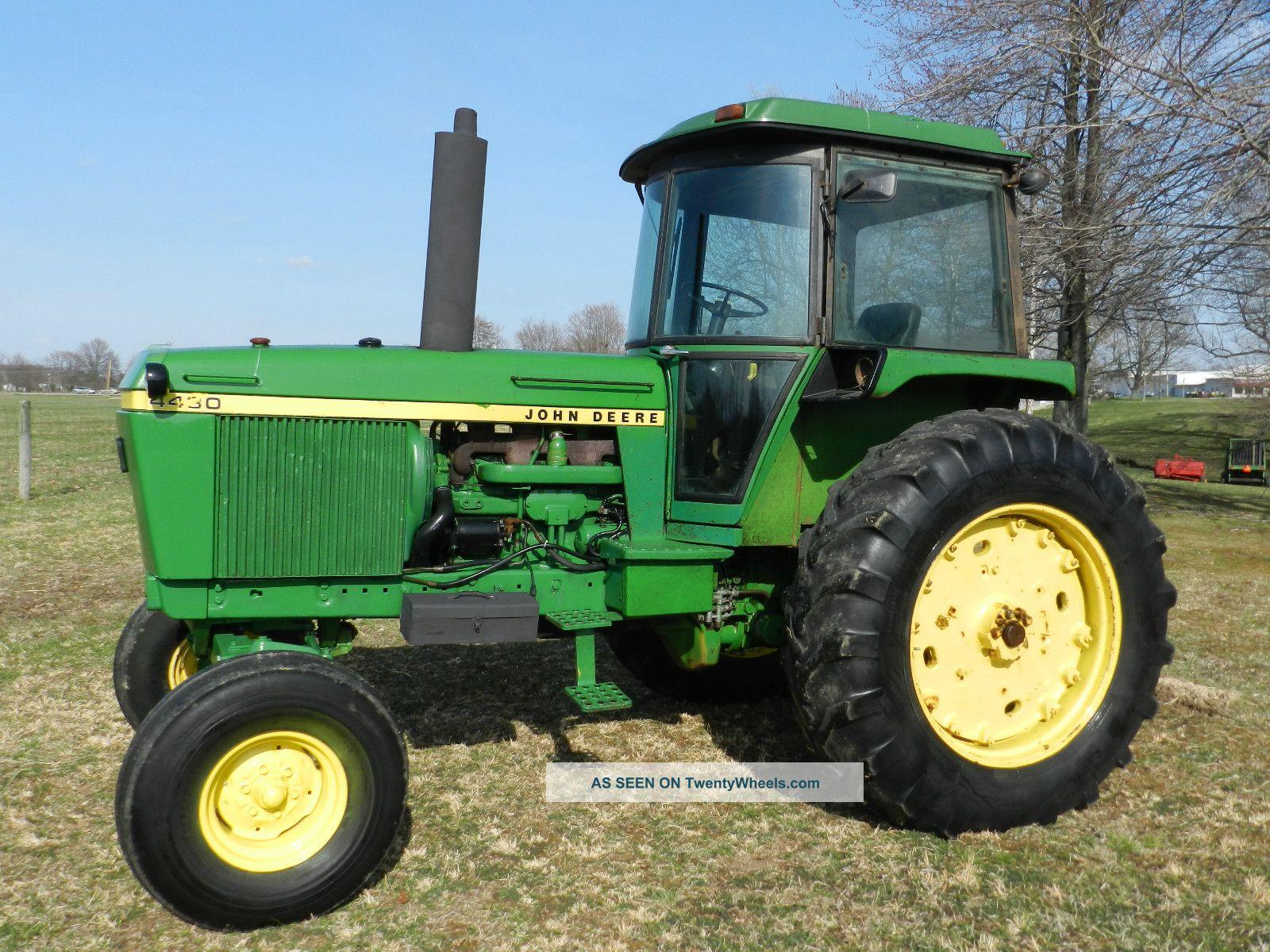 John Deere 4430 Tractor & Cab - Diesel Tractors photo 1