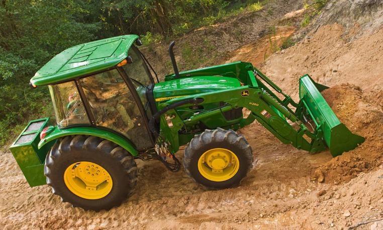 john deere 5e series utility tractors