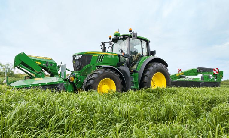 john deere 6m series utility tractors