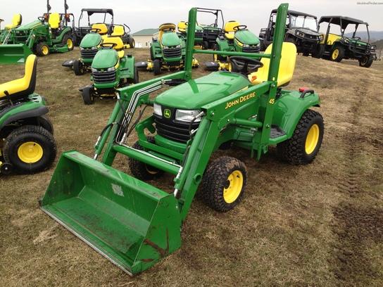 2012 John Deere X748 Lawn & Garden and Commercial Mowing - John Deere ...