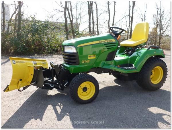John Deere X748 Ultimate 4 WD - Year: 2010 - Tractors - ID: D4426EF6 ...
