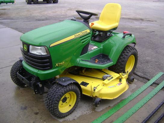 2009 John Deere X748 Lawn & Garden and Commercial Mowing - John Deere ...