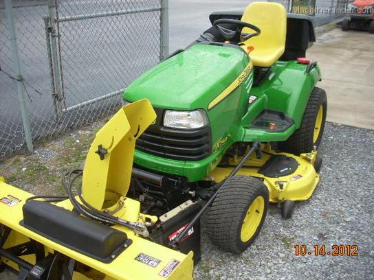 2007 John Deere X748 Lawn & Garden and Commercial Mowing - John Deere ...