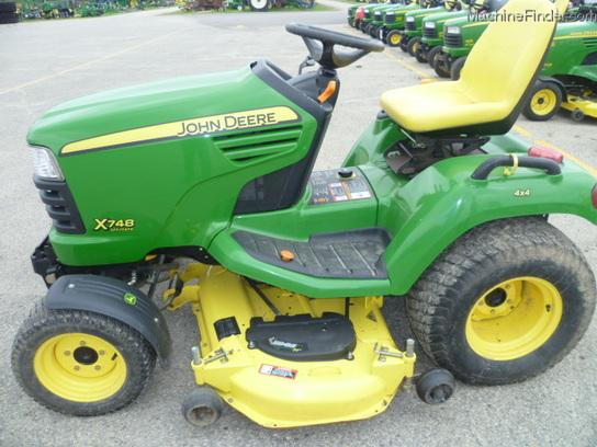 2006 John Deere X748 Lawn & Garden and Commercial Mowing - John Deere ...