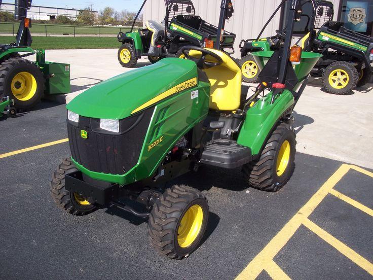 1023E sub compact tractor | John Deere equipment | Pinterest