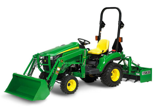 Sub Compact Utility Tractor Pictures to pin on Pinterest