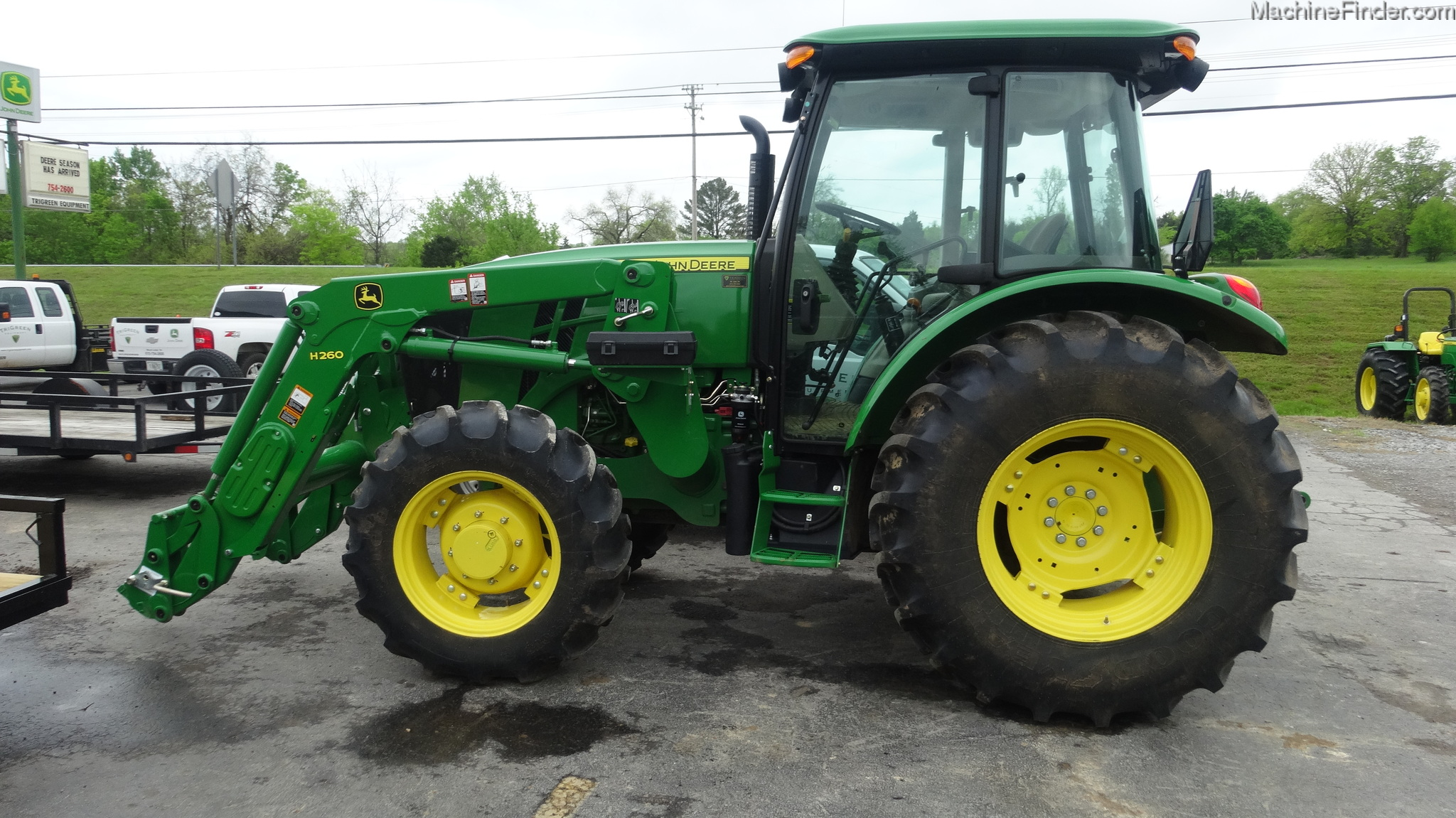 2014 John Deere 5100E Tractors - Utility (40-100hp) - John Deere ...