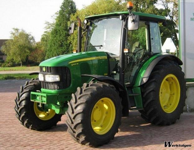 John Deere 5100M - 4wd tractors - John Deere - Machine Guide ...