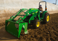 John Deere AE11 Series Free-Stall Scrapers Loader Attachments ...