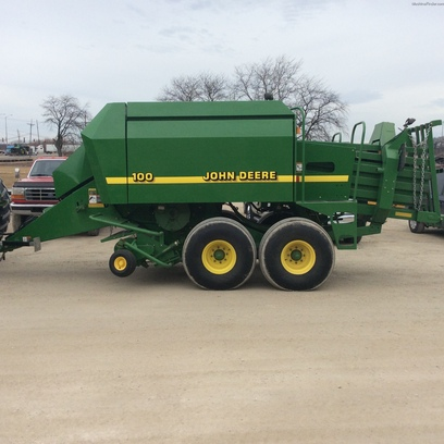 John Deere 100 Hay Equipment - Square Balers - John Deere ...