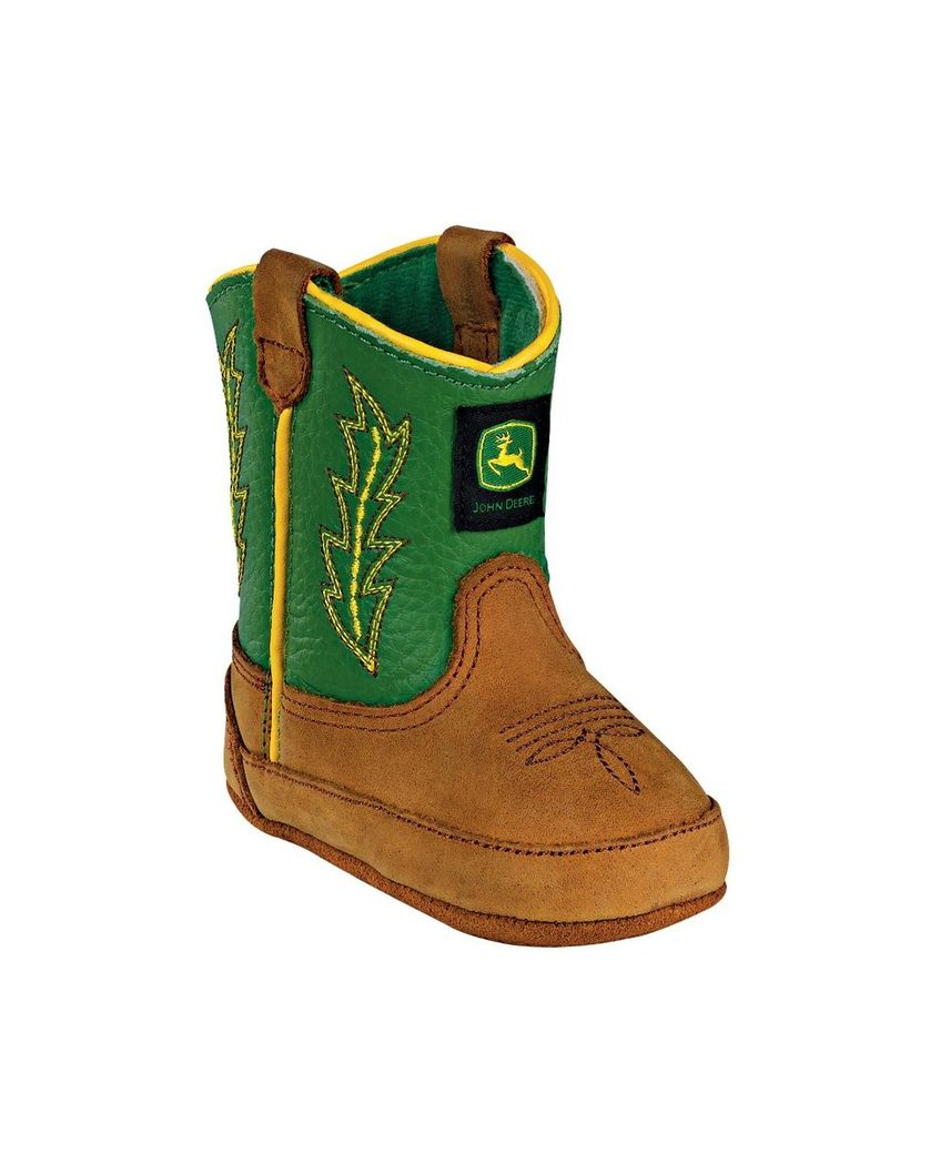John Deere   Crib Classic Pull-On Boot - Green   Country Outfitter