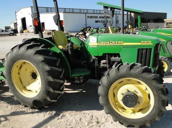john deere 5105 5205 tractor service repair manual