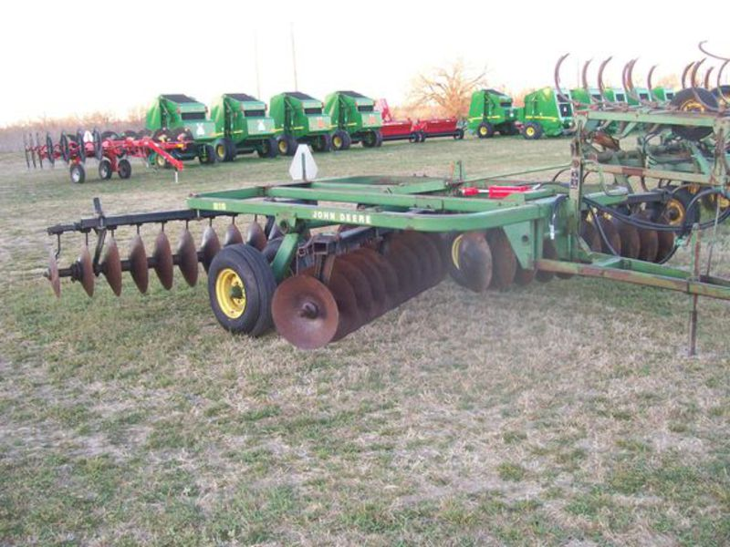 John Deere 215 Disc #T00215A012538 Clark Tractor & Supply ...