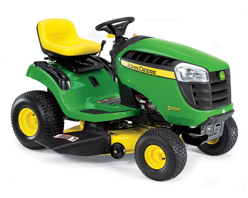 John Deere Lawn Tractors 100 Series