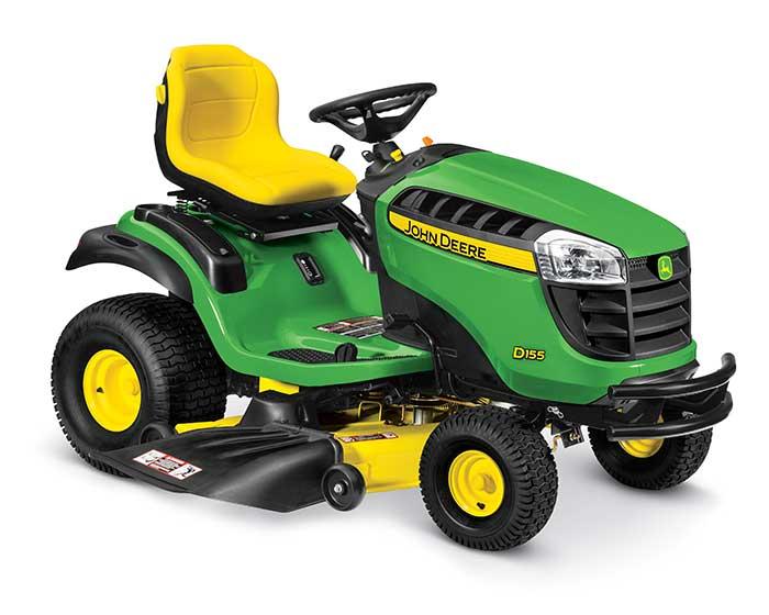 John Deere 100 Series Lawn Tractor D155