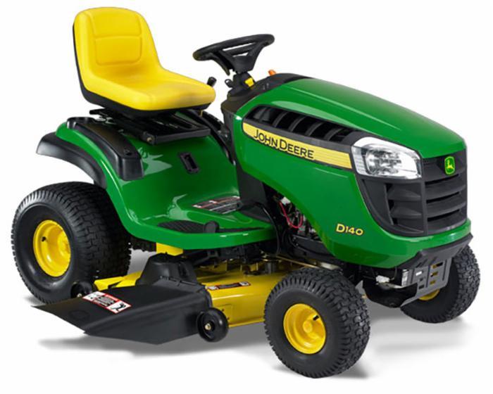John Deere 100 Series Lawn Tractor D140