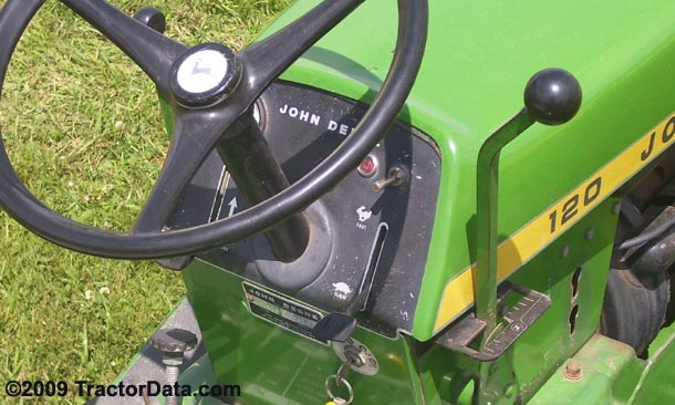TractorData.com John Deere 120 tractor transmission ...
