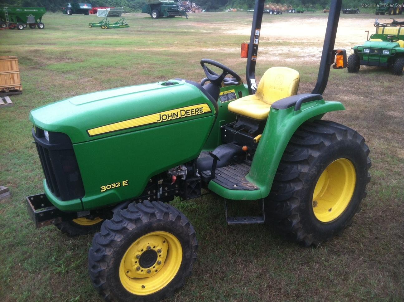 2010 John Deere 3032E Tractors - Compact (1-40hp.) - John ...