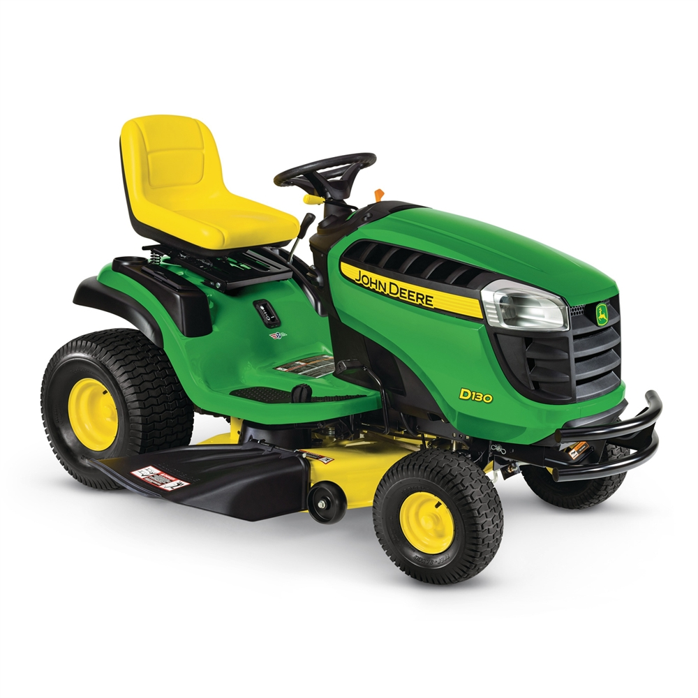 John Deere D130 22-HP V-Twin Hydrostatic 42-in Lawn ...