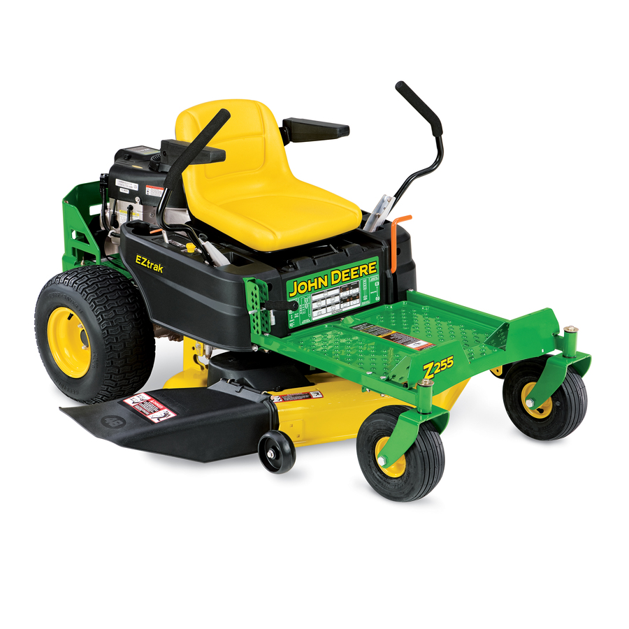 Shop John Deere Z255 22-HP V-Twin Dual Hydrostatic 48-in ...