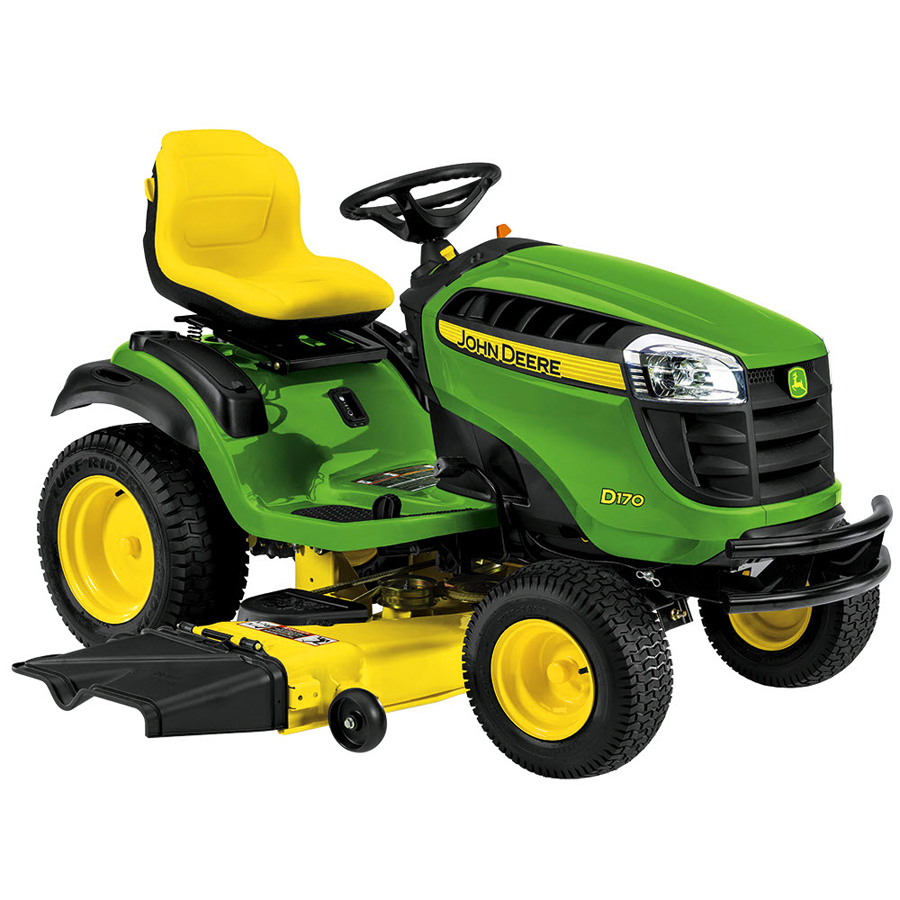 Shop John Deere D140 22-HP V-Twin Hydrostatic 48-in Riding ...