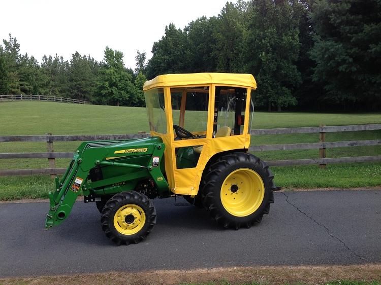 Tractor Cab for John Deere 4000 Series Tractors (Requires ...