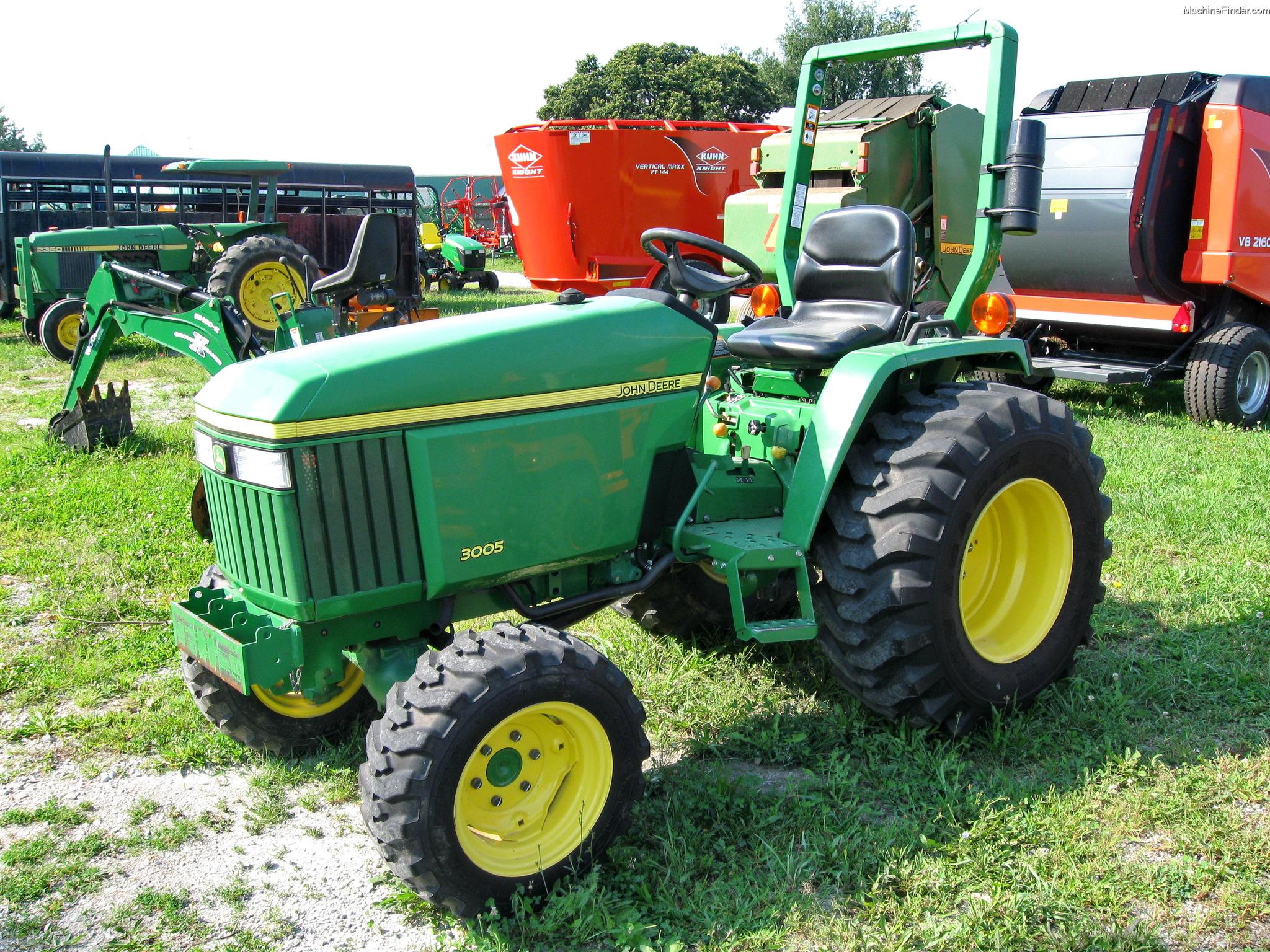 John Deere 3005 Tractors - Compact (1-40hp.) - John Deere ...