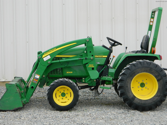 2009 John Deere 3005 Tractors - Compact (1-40hp.) - John ...