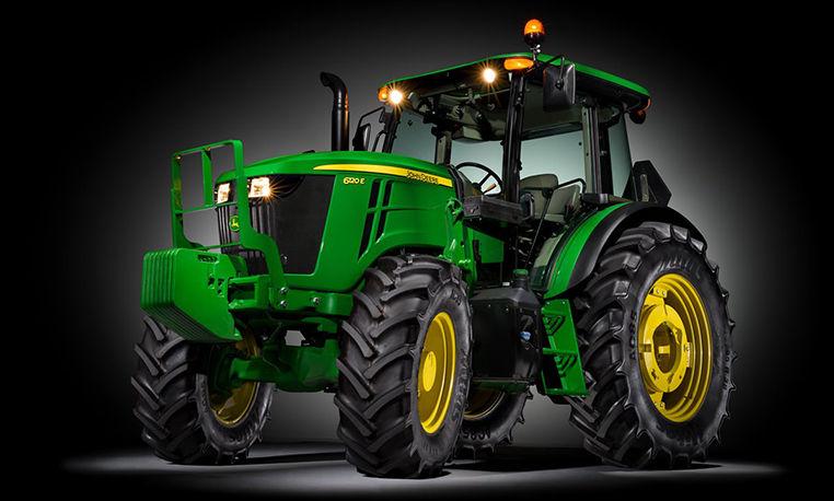 6E Series Utility Tractors | John Deere CA
